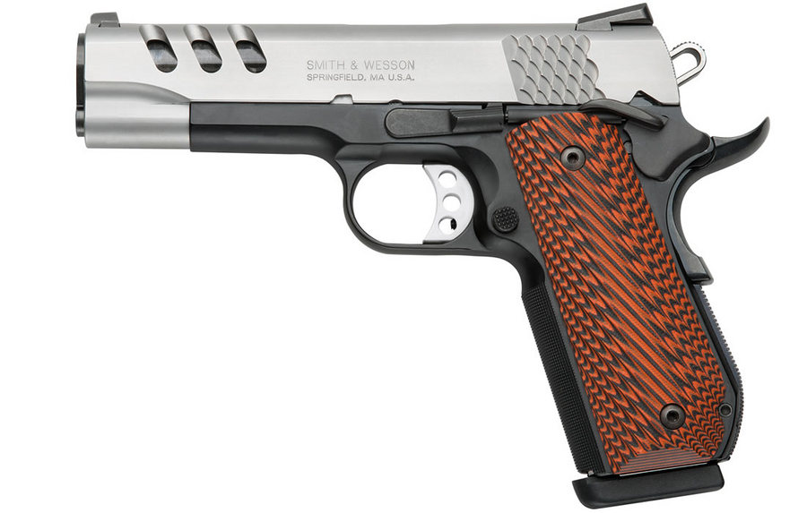 SW1911 PERFORMANCE CENTER 45ACP W/PORTS