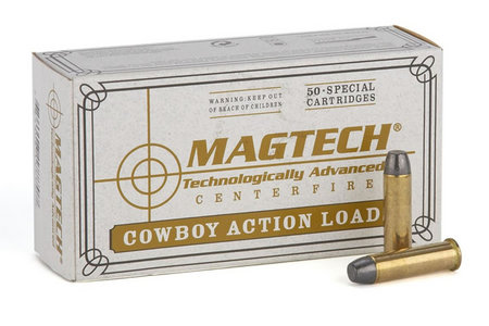 MAGTECH 45 Colt 250 gr Lead Flat-Nose Cowboy Action 50/Box