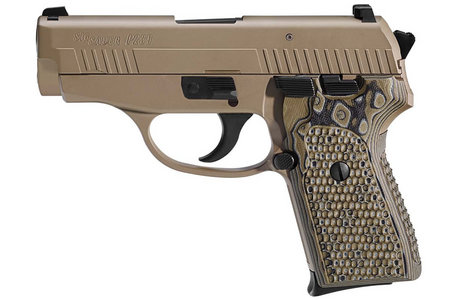 SIG SAUER P239 40SW SCORPION WITH NIGHT SIGHTS