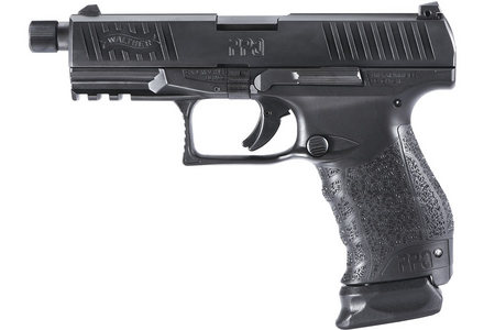 WALTHER PPQ NAVY SD 9MM WITH THREADED BARREL