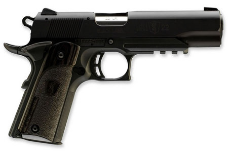 BROWNING FIREARMS 1911-22 22LR A1 BLACK LABEL WITH RAIL