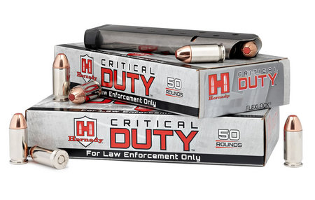 HORNADY 9mm Luger +P 135 gr FlexLock Critical Duty 50/Box