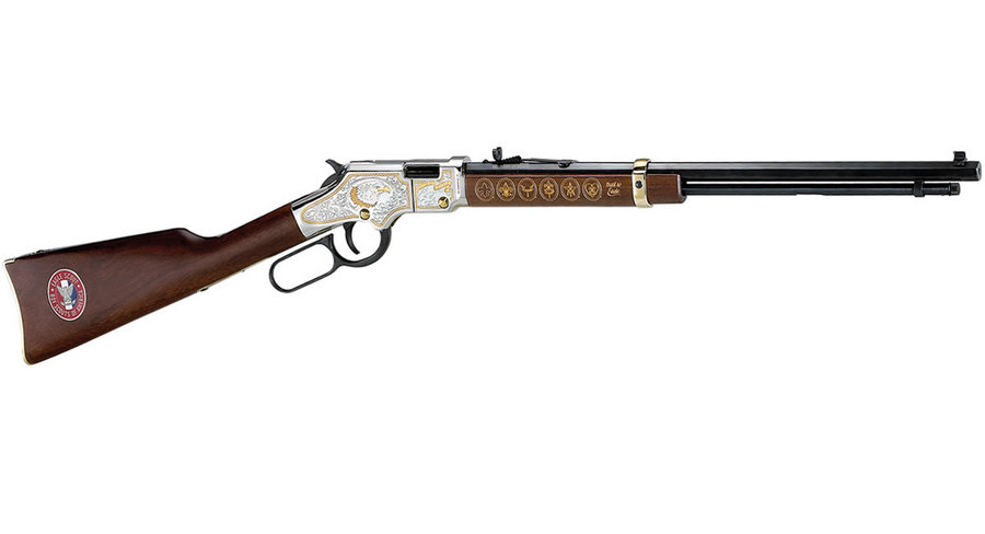 EAGLE SCOUT TRIBUTE HEIRLOOM RIFLE