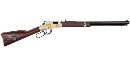 HENRY REPEATING ARMS FIREFIGHTER TRIBUTE HEIRLOOM RIFLE