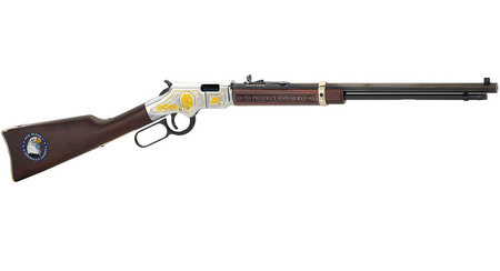 HENRY REPEATING ARMS LAW ENFORCEMENT TRIBUTE HEIRLOOM RIFLE