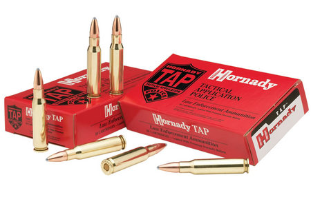 HORNADY 5.56 NATO 62 gr Soft Point TAP Barrier 20/Box