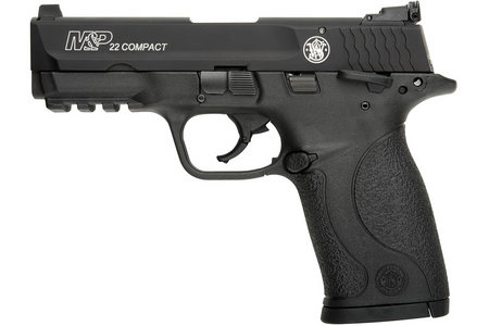 SMITH AND WESSON MP22 22LR COMPACT WITH TACTICAL RAIL