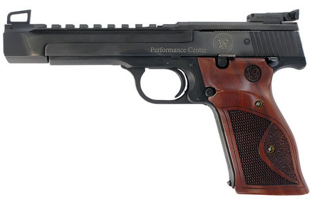 SMITH AND WESSON 41 22LR PERFORMANCE CENTER PISTOL