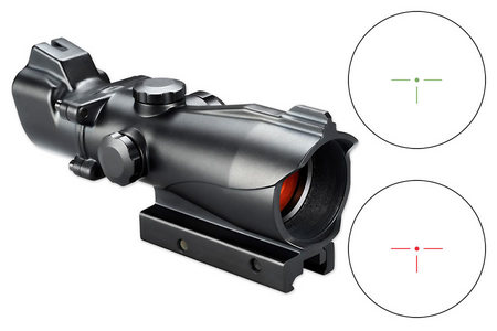 1X MP RED / GREEN T-DOT RETICLE AR-OPTIC