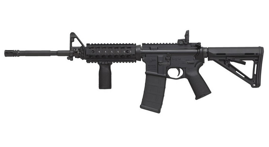 M4 CARBINE 5.56 MAGPUL MOE AND TROY RAIL