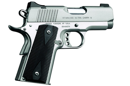 STAINLESS ULTRA CARRY II 9MM PISTOL