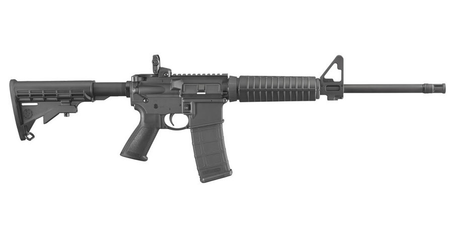 No. 8 Best Selling: RUGER AR-556 5.56 NATO M4 AUTOLOADING RIFLE