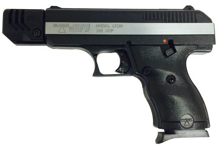 HI POINT CF-380 380ACP High-Impact Polymer Frame Pistol with Compensator