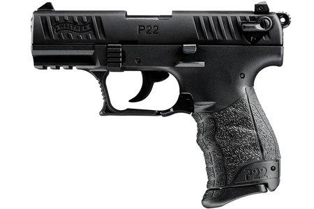 WALTHER P22 22LR BLACK RIMFIRE PISTOL