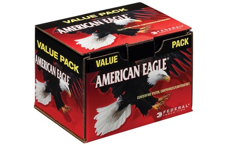 Federal 40SW 180 gr FMJ Value Pack 100/Box