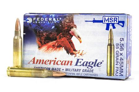 FEDERAL AMMUNITION 5.56MM NATO 55 GR FMJ BT