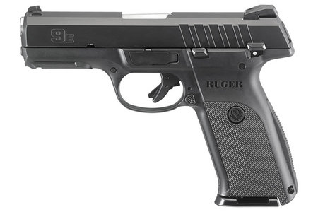 RUGER 9E 9MM BLACK STRIKER-FIRED PISTOL