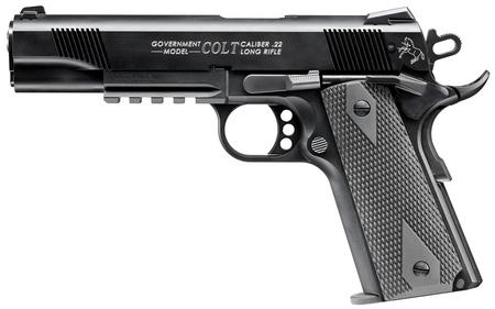 WALTHER COLT 1911 A1 22 LR RAIL GUN