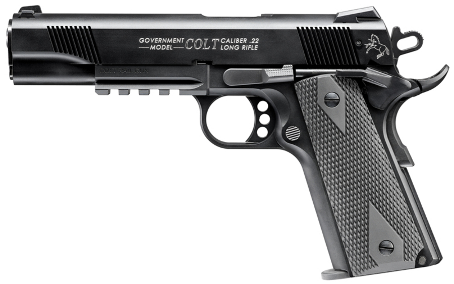 COLT 1911 A1 22 LR RAIL GUN