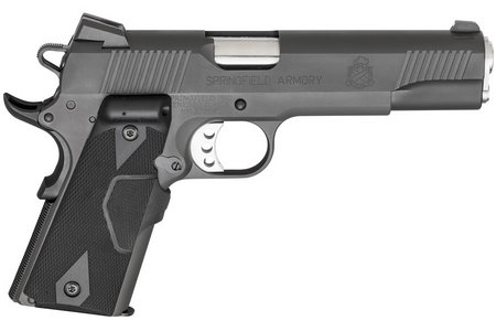 SPRINGFIELD 1911 LOADED 45 ACP W/ CT LASERGRIPS
