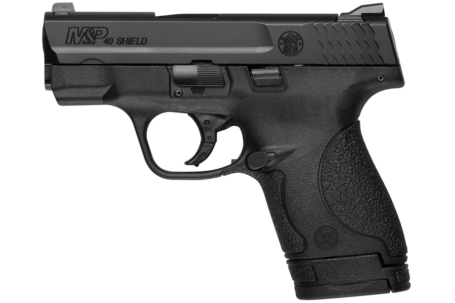 Smith & Wesson M&P40 Shield 40 S&W Centerfire Pistol with No Thumb ...