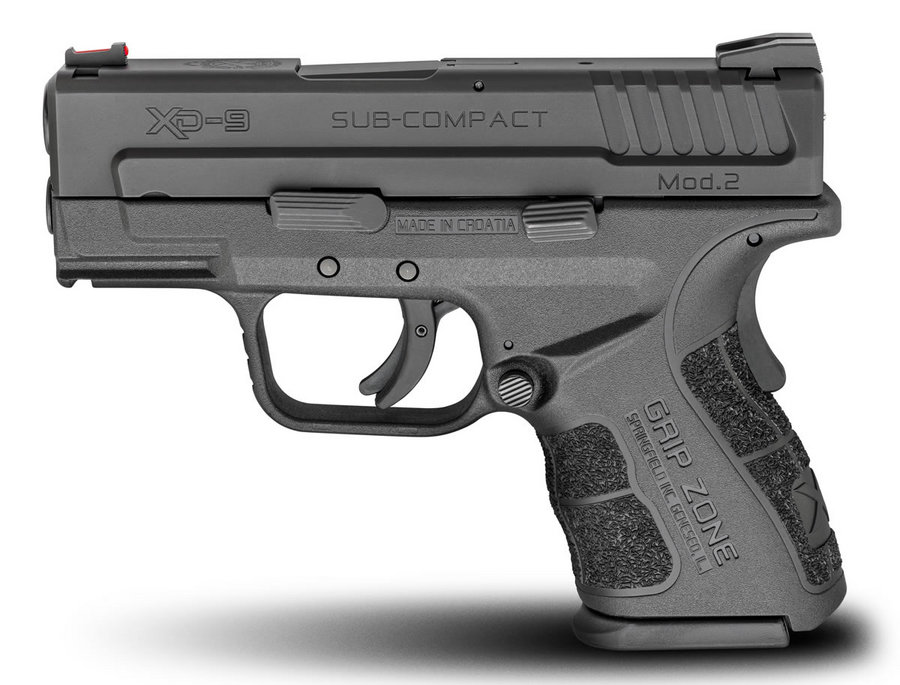 Springfield 9mm xd xd Mod.2 9mm Sub-compact Black