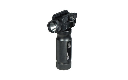LEAPERS Combat Aluminum Foregrip with Integral LED Flashlight