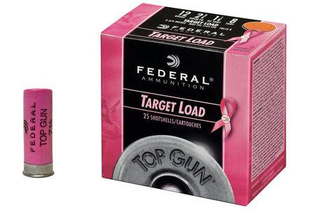 FEDERAL AMMUNITION 12 GA TOP GUN TARGET 2 3/4 SIZE 8 PINK 25/BOX