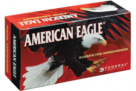 FEDERAL AMMUNITION 40SW 155 GR FMJ AMERICAN EAGLE 50/BOX