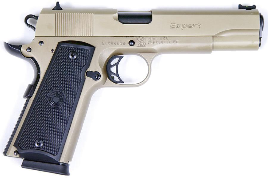 1911 Expert 45 ACP FDE Centerfire Pistol