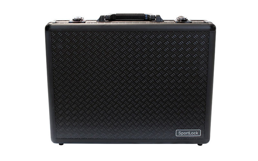ALUMALOCK BLACK QUAD PISTOL CASE