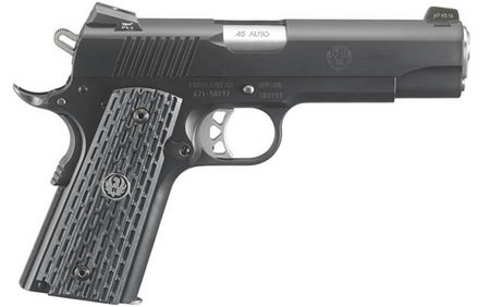 RUGER SR1911 NIGHT WATCHMAN COMMANDER 45 AUTO