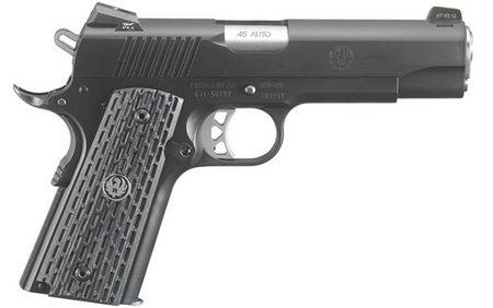 Ruger SR1911 Night Watchman Commander 45ACP Centerfire Pistol (TALO  Exclusive)