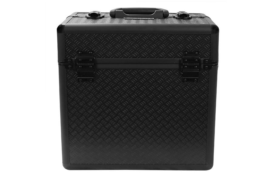 ALUMALOCK BLACK DOUBLE TOPPED RANGE CASE