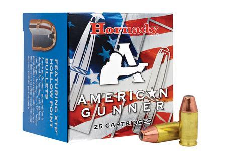 Hornady 380 Auto 90 gr XTP American Gunner 25/Box