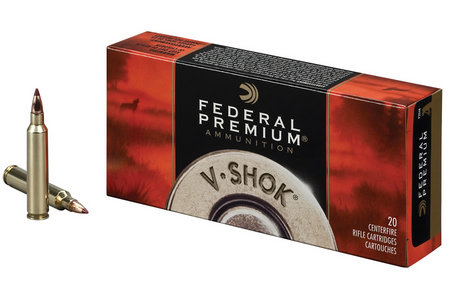 Federal 223 Rem 40 gr Nosler Ballistic Tip V-Shok 20/Box