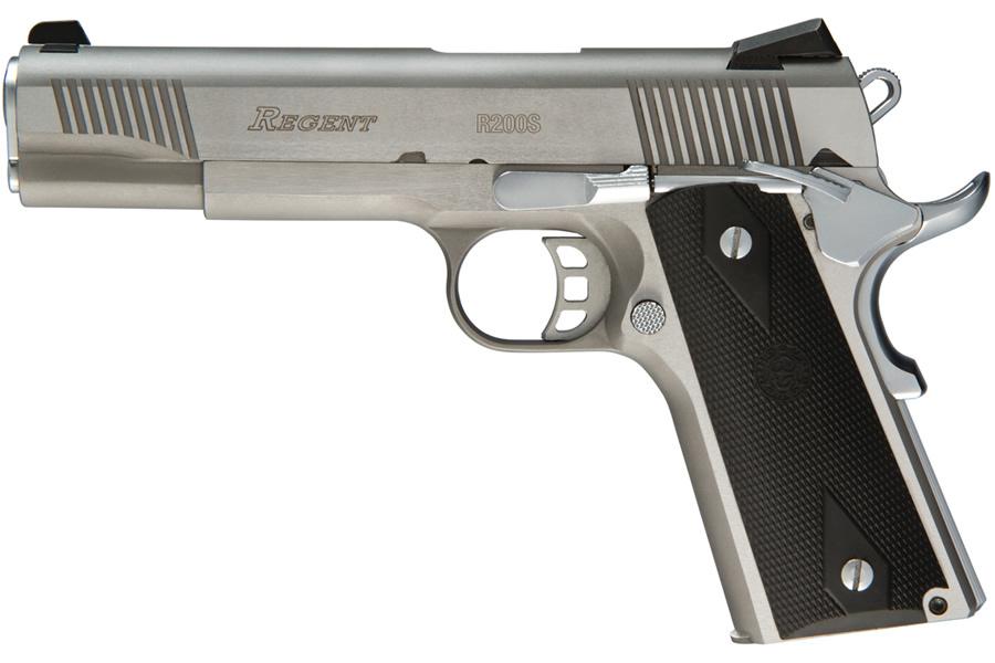 Umarex Usa Regent 1911 45 Acp Stainless Steel Pistol