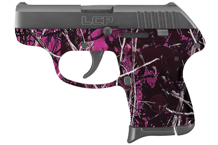 RUGER LCP 380 AUTO W/ MUDDY GIRL CAMO