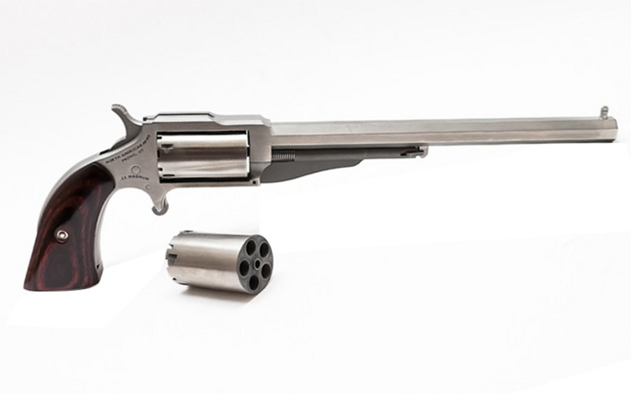 North American Arms 1860 Hogleg 22 Magnum Mini Revolver 6