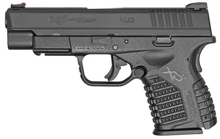 SPRINGFIELD XDS 4.0 45ACP BLACK ESSENTIALS PACKAGE