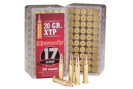 HORNADY 17 HMR 20 GR XTP VARMINT EXPRESS 50/BOX
