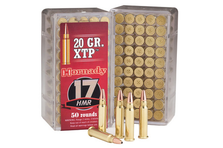 Hornady Varmint Express .17 HMR XTP 20 Grain 50 Rounds