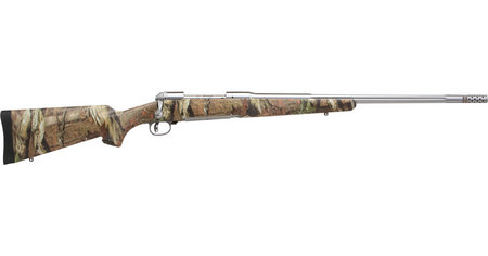 SAVAGE 116 Bear Hunter 300 Win Mag Stainless Bolt Action Rifle with Camo Stock