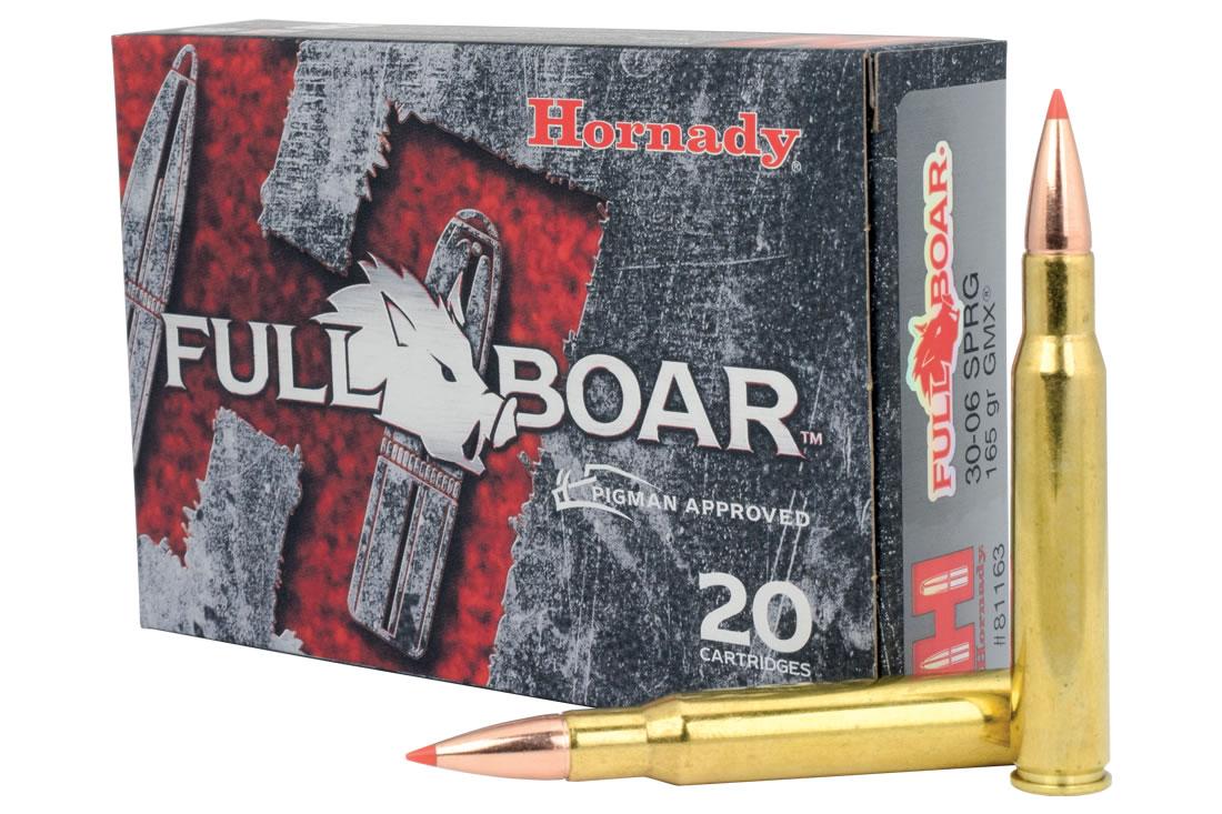 30-06 Springfield 165 gr GMX Full Boar 20/Box