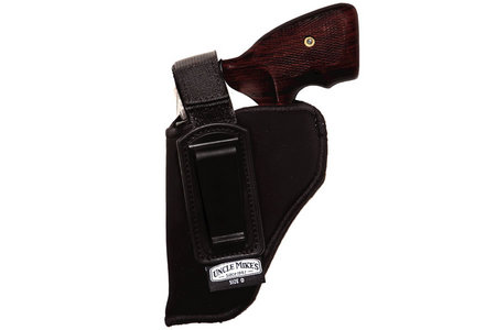 Uncle Mikes Inside-The-Pant Holster for 2-3 Inch Double Action Revolvers  (Left Hand)