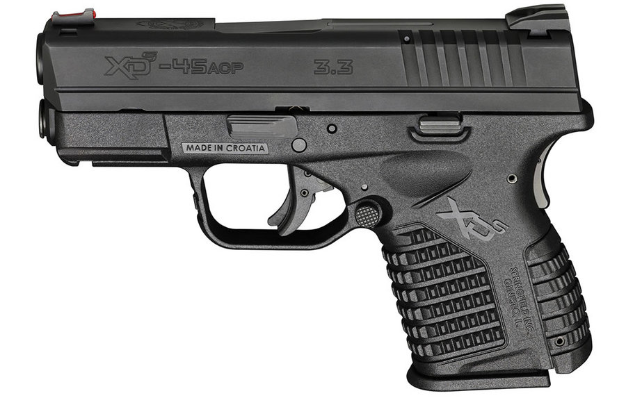 XDS 3.3 45ACP ESSENTIALS PACKAGE BLACK
