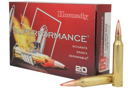 HORNADY 7mm Rem Mag 139 gr SST Superformance 20/Box