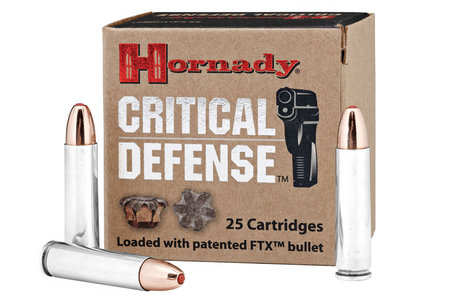 HORNADY 30 Carbine 110 gr FTX Critical Defense 25/Box