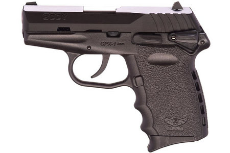 SCCY CPX-1 9MM WITH MANUAL SAFETY