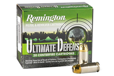 REMINGTON 9mm Luger 124 gr BJHP Ultimate Defense 20/Box